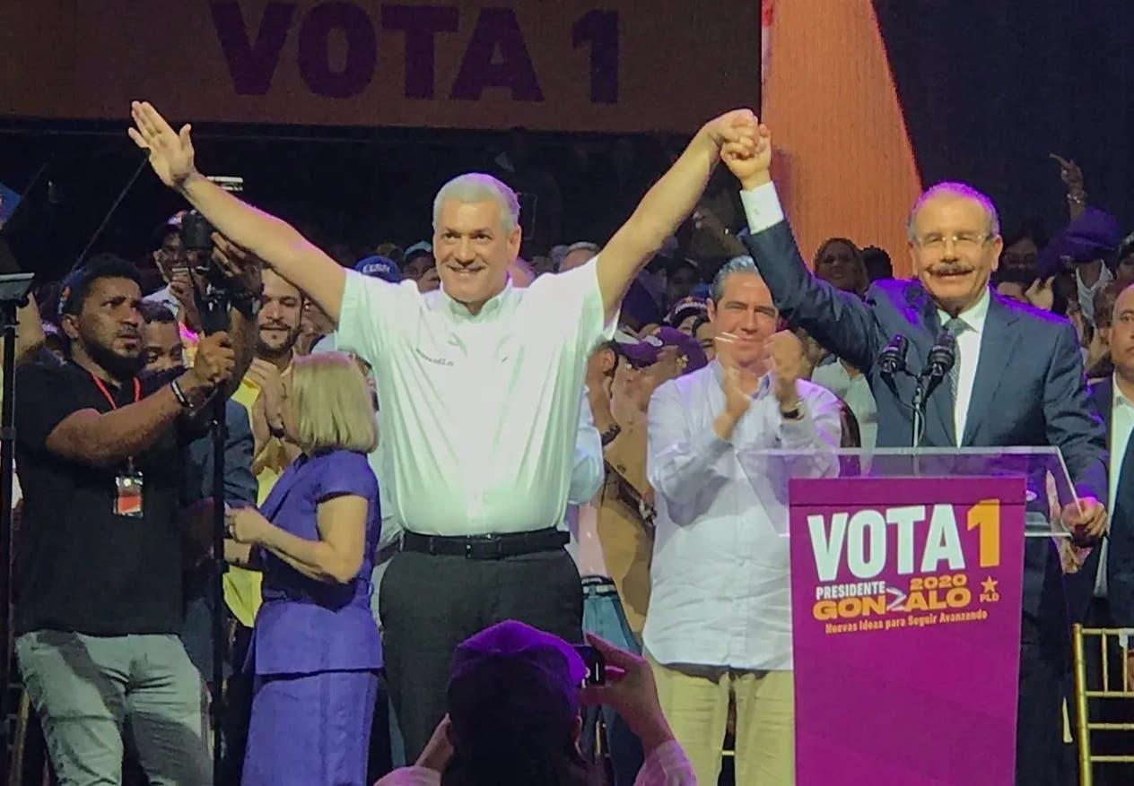 Gonzalo Castillo anuncia no buscará candidatura del PLD