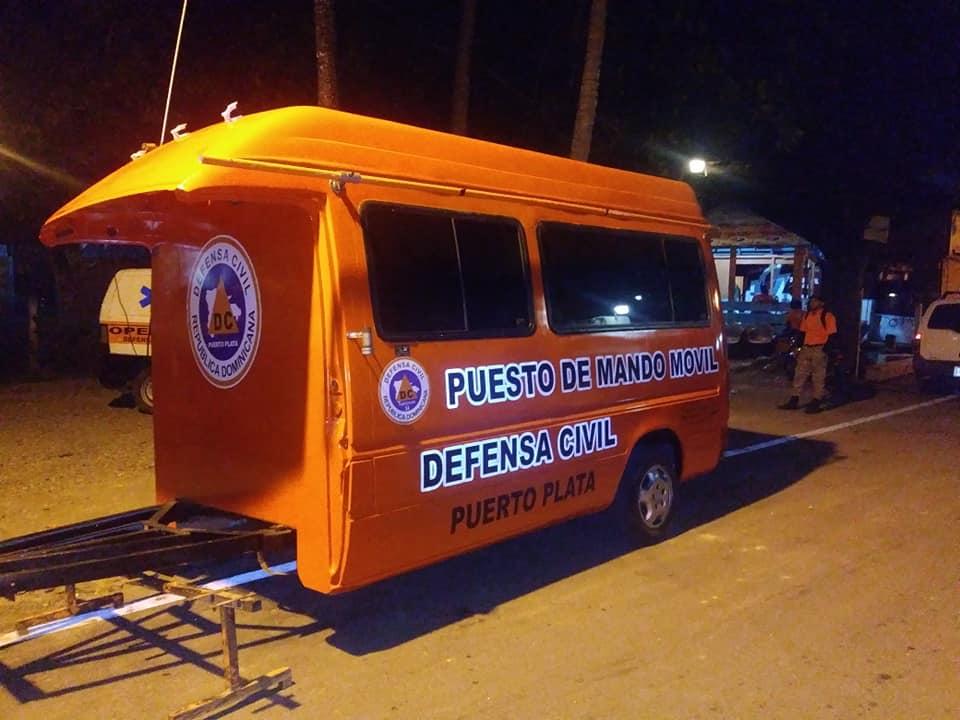 Defensa Civil en Puerto Plata inicia segunda etapa operativo Navidad y Año Nuevo