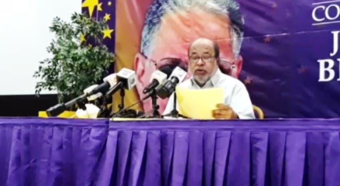 Héctor Olivo renuncia a secretaría de comunicaciones del PLD