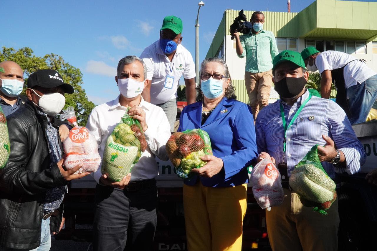 Agricultura e Inespre inician ventas populares en 135 puntos del Gran Santo Domingo