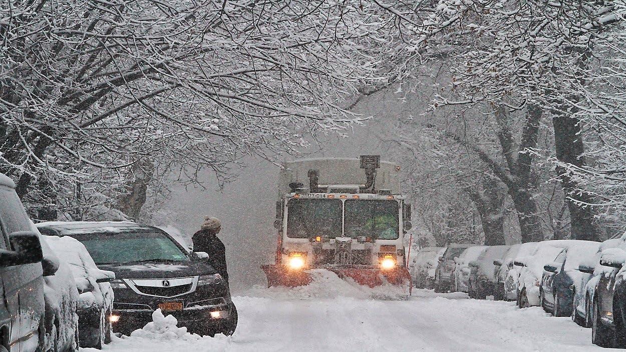 NY se prepara para recibir tormenta de nieve este miércoles; dominicanos serían afectados