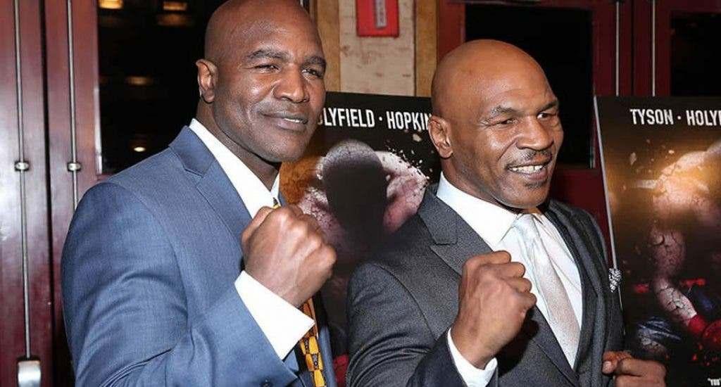Holyfield reta a Tyson: «firma el contrato y sube al cuadrilátero»