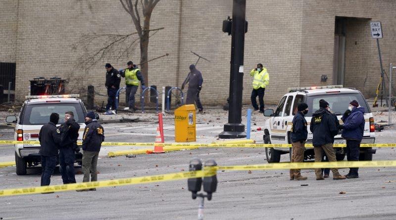 Explosión sacude centro de Nashville; 3 heridos