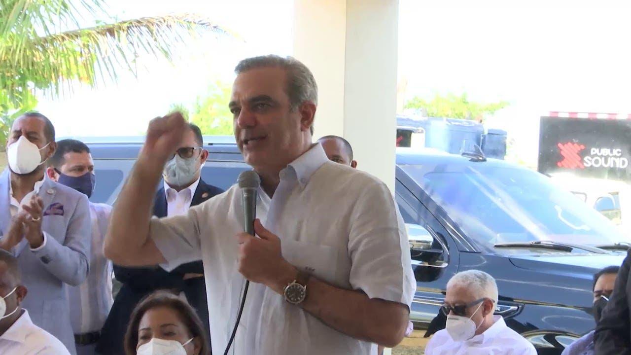 Presidente Luis Abinader anuncia la construcción de un ingenio de alcohol en el municipio de Guerra