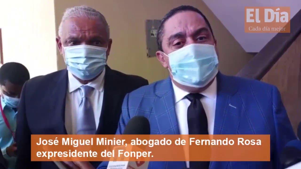 Abogado dice Fernando Rosa es un hombre enfermo: sufre de hipertensión, tiroides y vitíligo