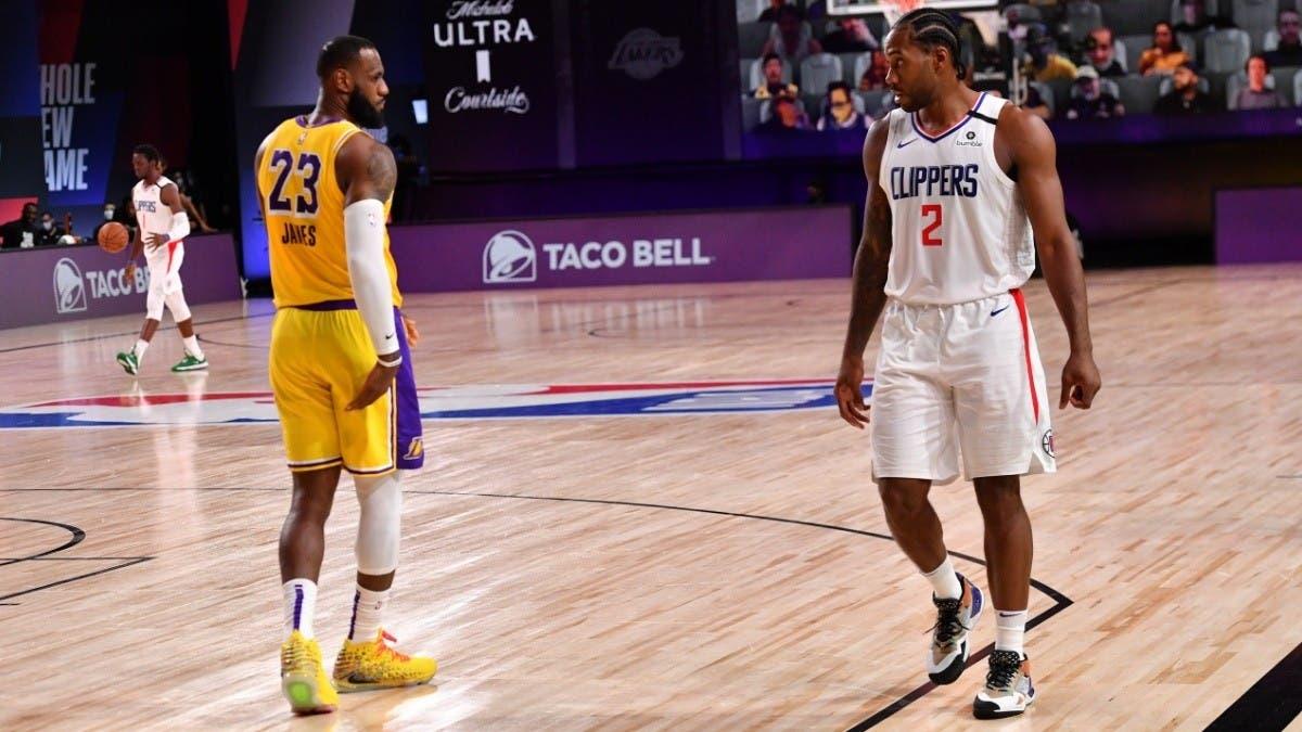 Los juegos Nets-Warriors y Lakers-Clippers abrirán la temporada 2020-21