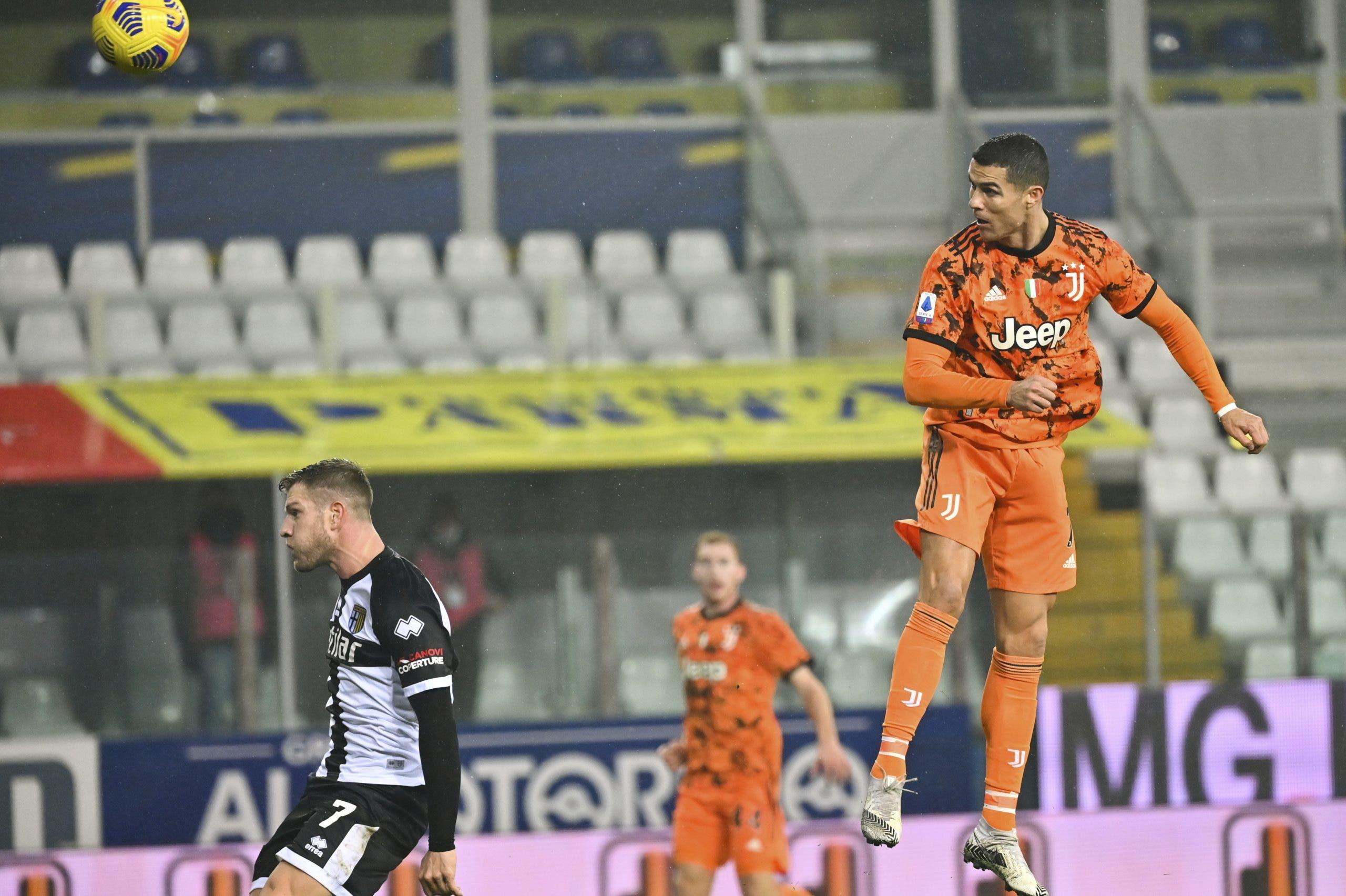 Cristiano aporta 2 goles al 4-0 de Juve sobre Parma