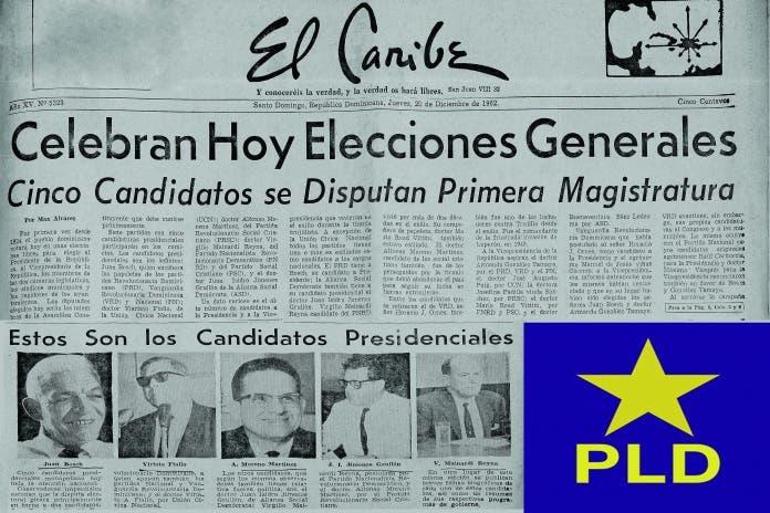 PLD conmemora 58 aniversario triunfo presidencial de Juan Bosch