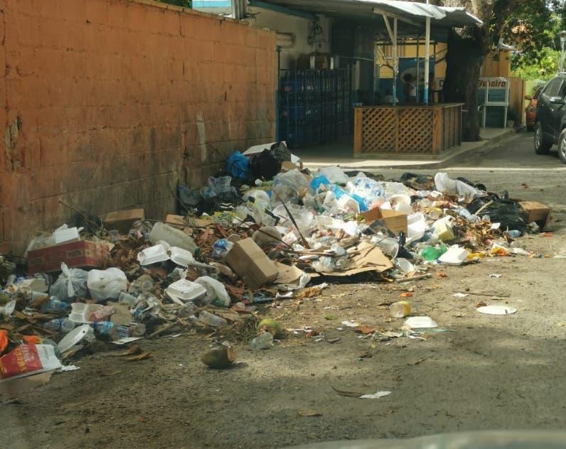 Cúmulo basura en Boca Chica y SDE es crítica