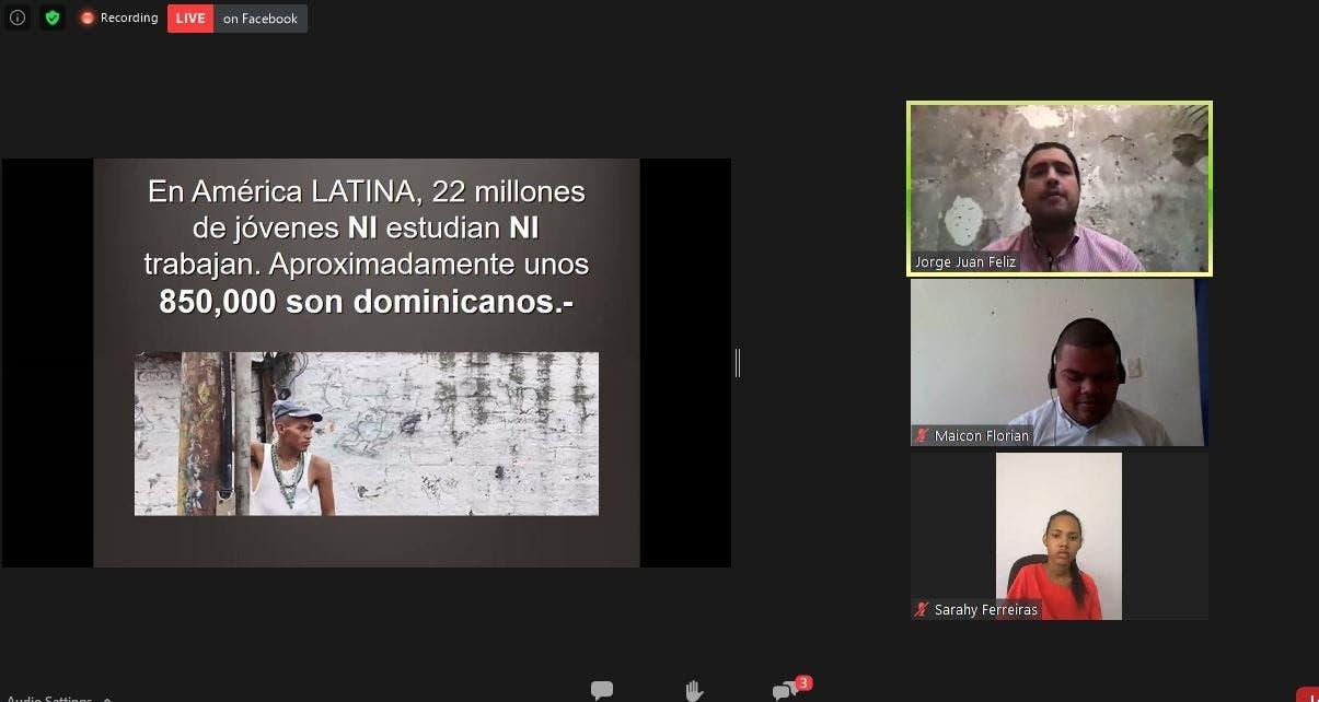 850 mil jóvenes dominicanos recaen en la generación NINI, por falta de empleos y estudios