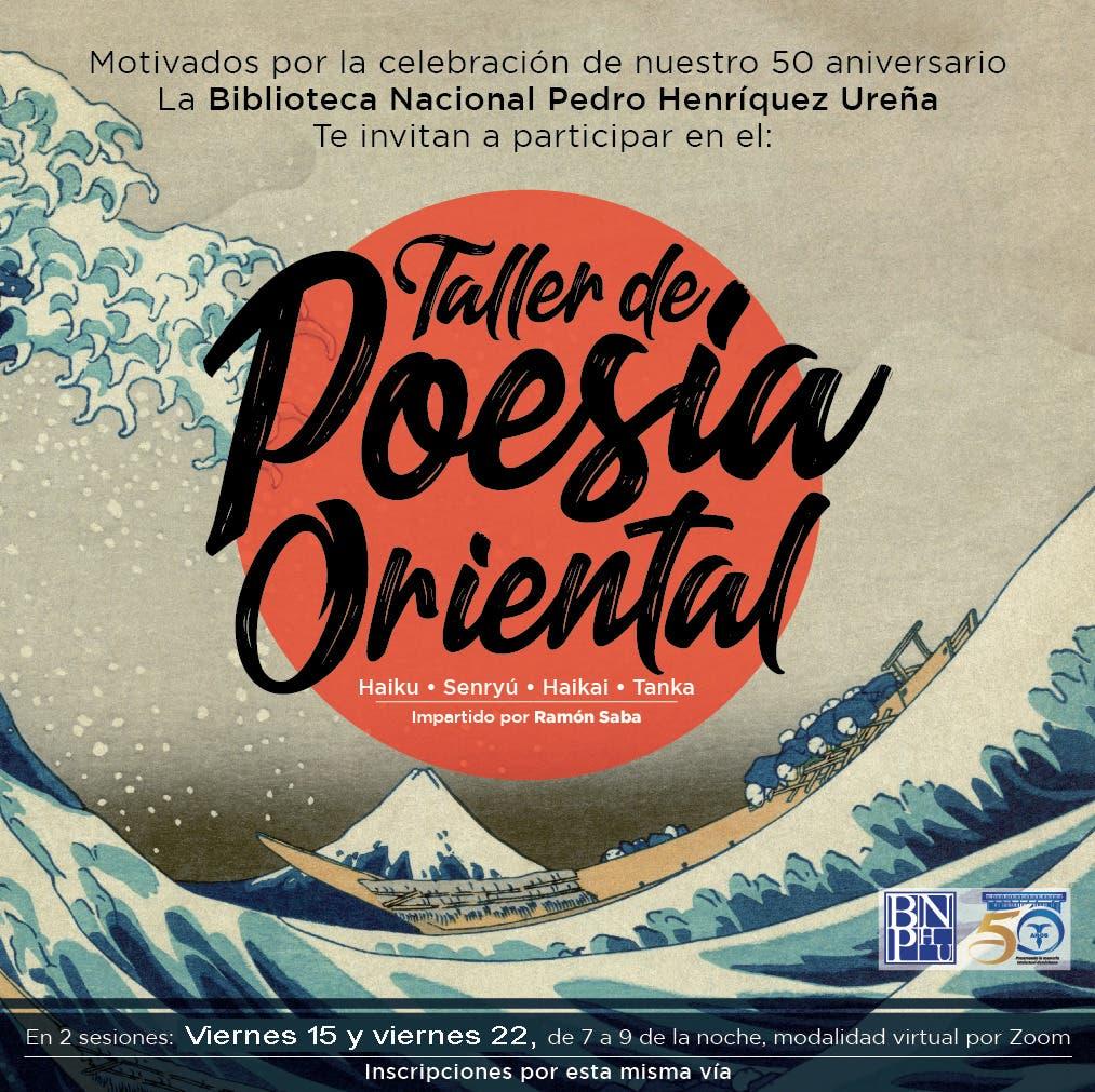 Biblioteca Nacional dictará taller sobre poesía oriental