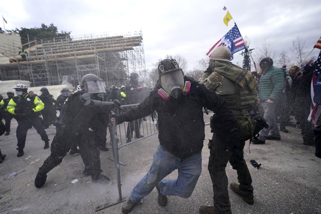 Muerte de policía aviva dudas sobre seguridad del Capitolio
