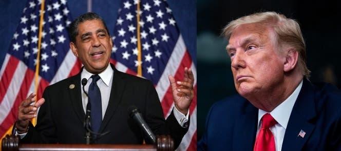 Espaillat llama enjuiciar a Trump por actos vandálicos contra el Capitolio