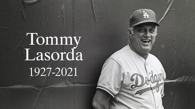 Muere legendario manager Tommy Lasorda a los 93 años