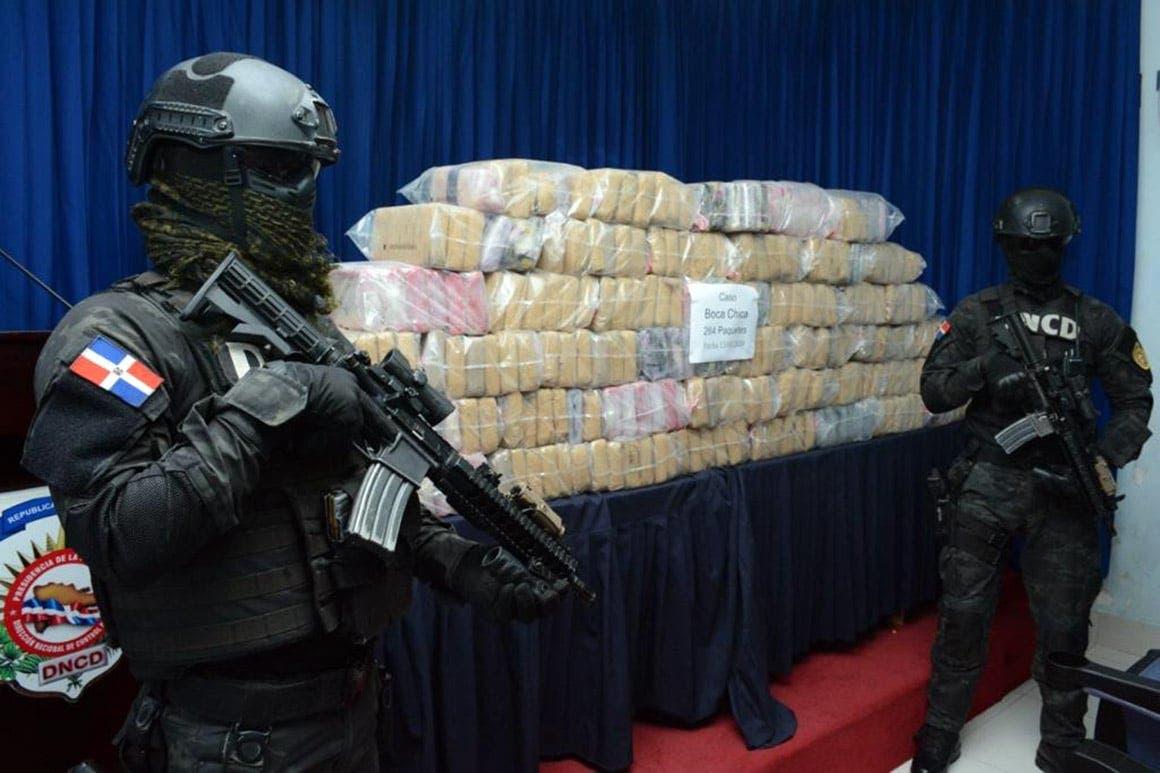 RD aumentó 629% las incautaciones de droga de agosto a diciembre