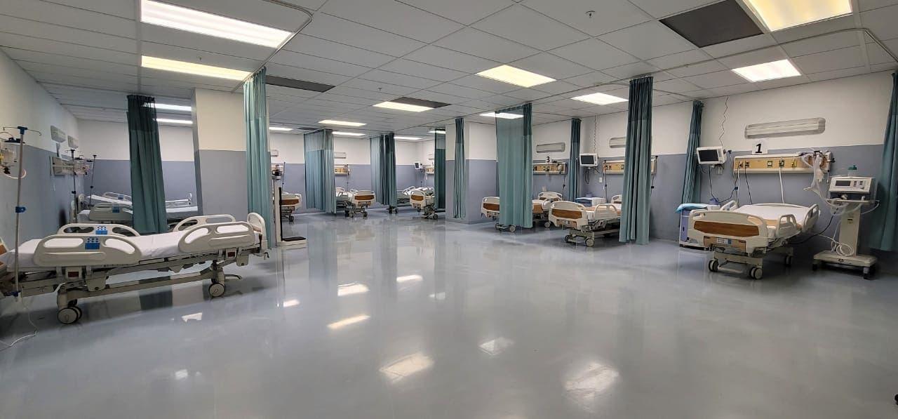 SNS amplia 125% capacidad camas UCI y 75% ventiladores hospital Marcelino Vélez