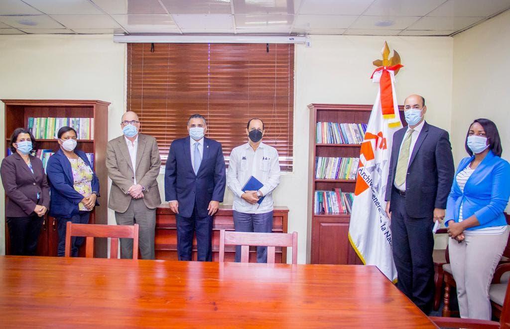 JCE y Archivo General de la Nación trabajarán unidos para mejorar resguardo de documentos