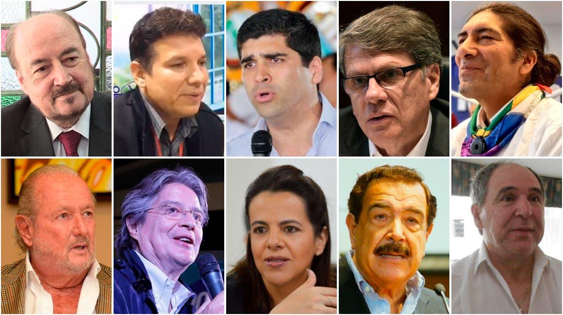 Ecuador y su inédita cantidad de candidatos a la presidencia