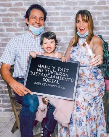 Zeny Leyva anuncia que espera a su segundo hijo