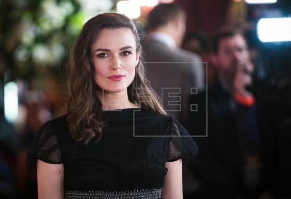 Keira Knightley rechaza protagonizar escenas de sexo dirigidas por hombres