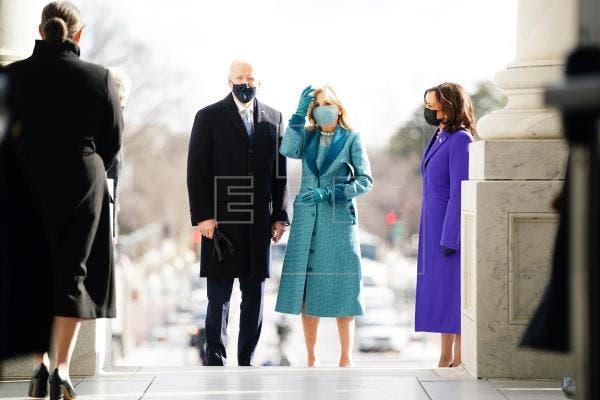 Comienza la ceremonia de investidura de Joe Biden y Kamala Harris
