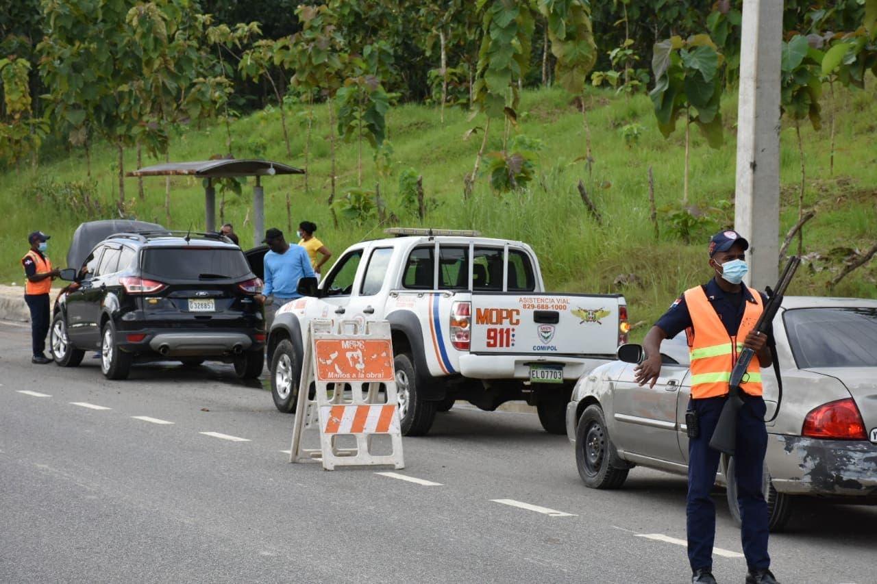 MOPC ofreció más de 11 mil asistencias viales del 25 de diciembre al 8 de enero