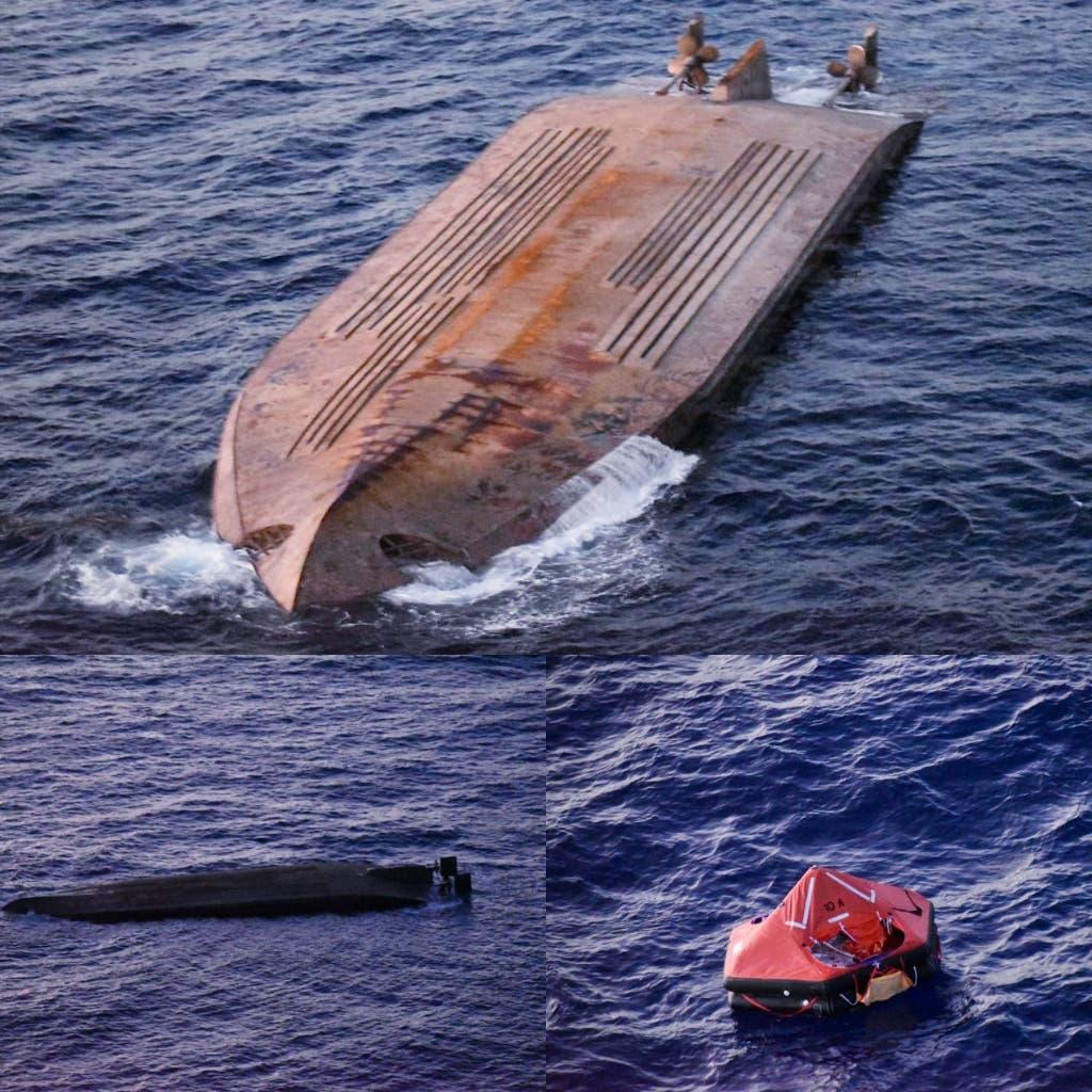Naufraga barco cargado de materiales construcción iba en ruta Puerto Plata-Bahamas