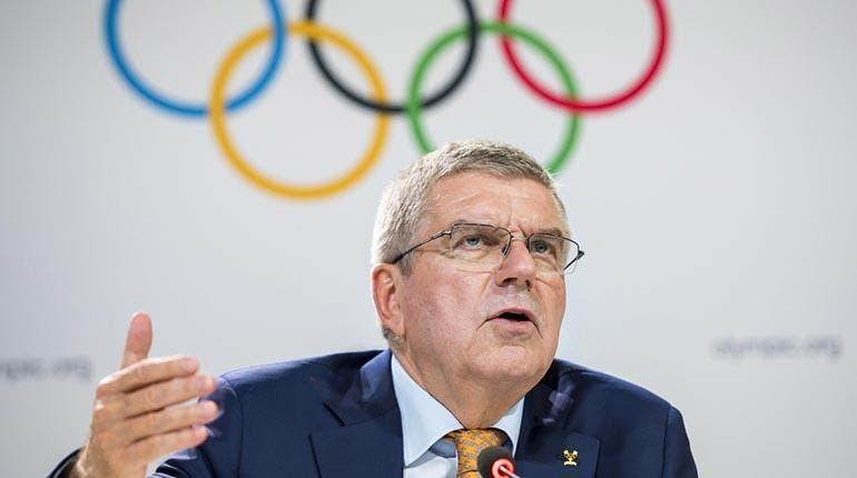 """Bach afirma que """"no hay plan B"""" para los Juegos de Tokio"""