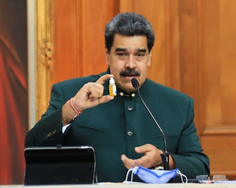 Maduro quiere usar recurso de oro para vacuna