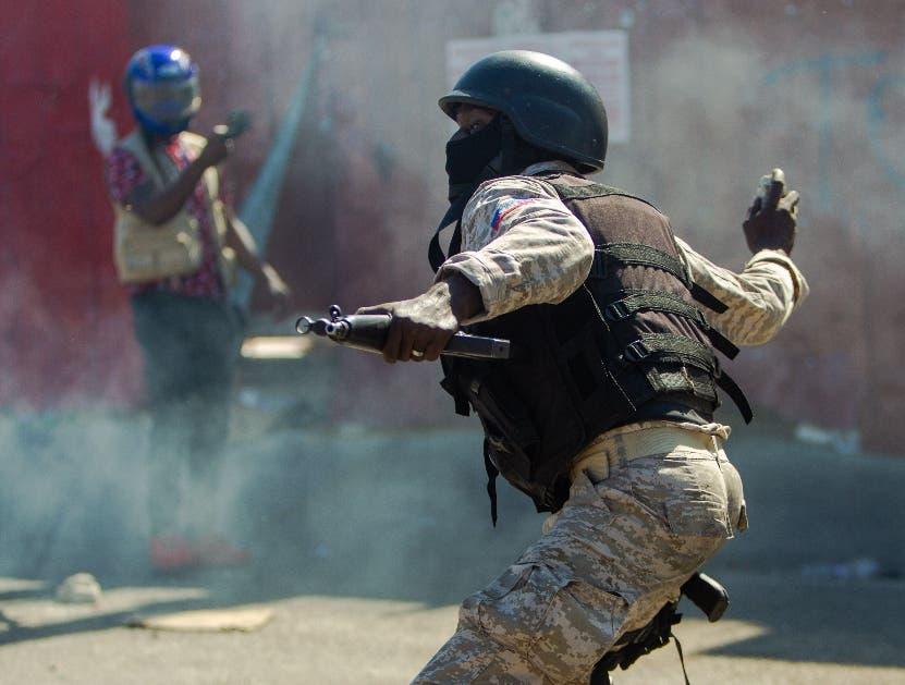 Un tercer periodista resulta herido de bala en una manifestación en Haití