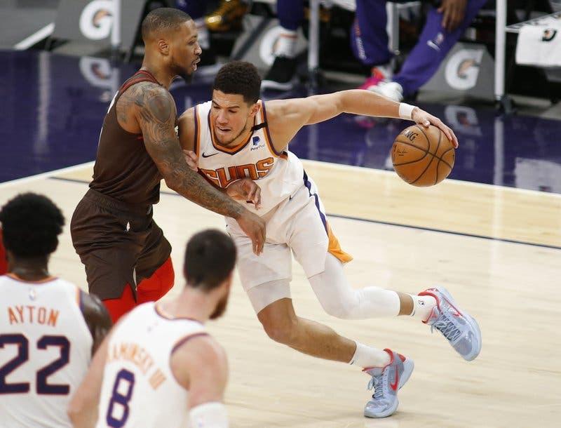 Devin Booker, de Suns, gana premio de Jugador de la Semana en el Oeste