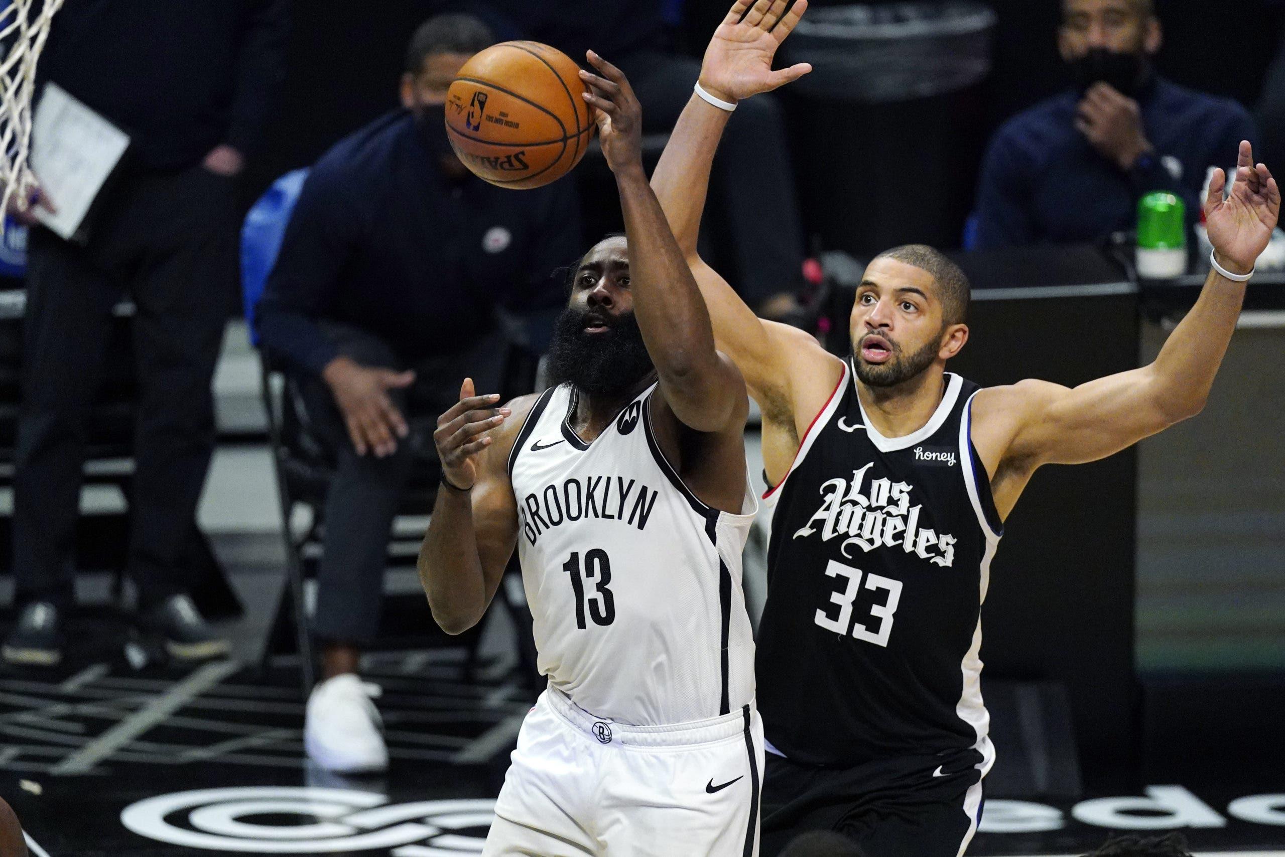 Los Nets pierden a James Harden por unos 10 días y esperan la vuelta de Durant