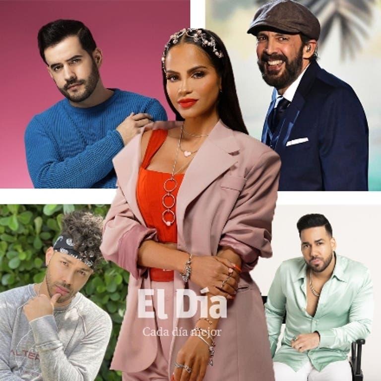 Estos son los 5 dominicanos nominados a Premio Lo Nuestro