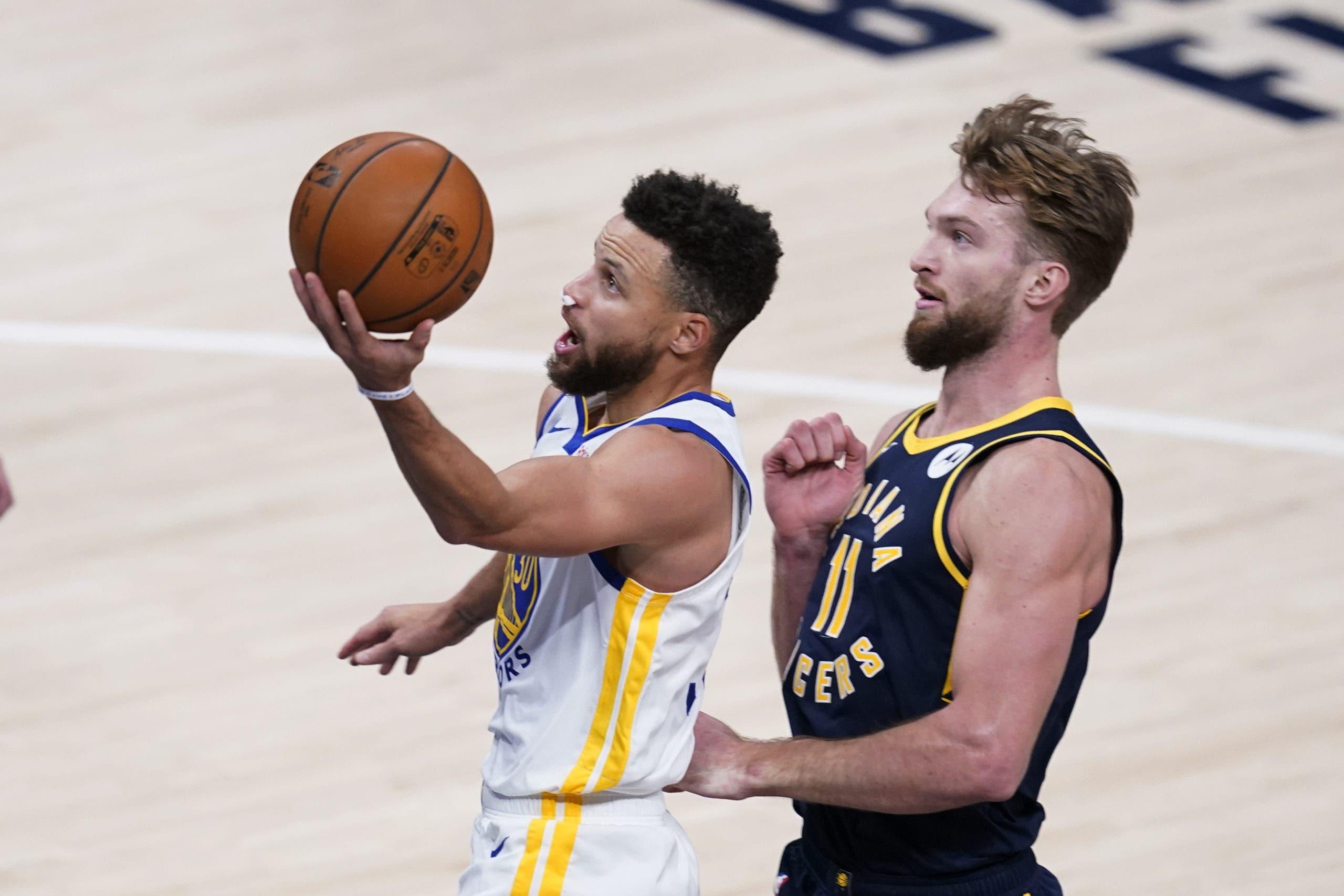 Curry y Warriors suman victorias seguidas y mantienen puesto playoffs