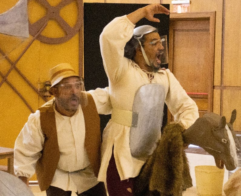 """La Mancha"" abre gira del Teatro en  país"