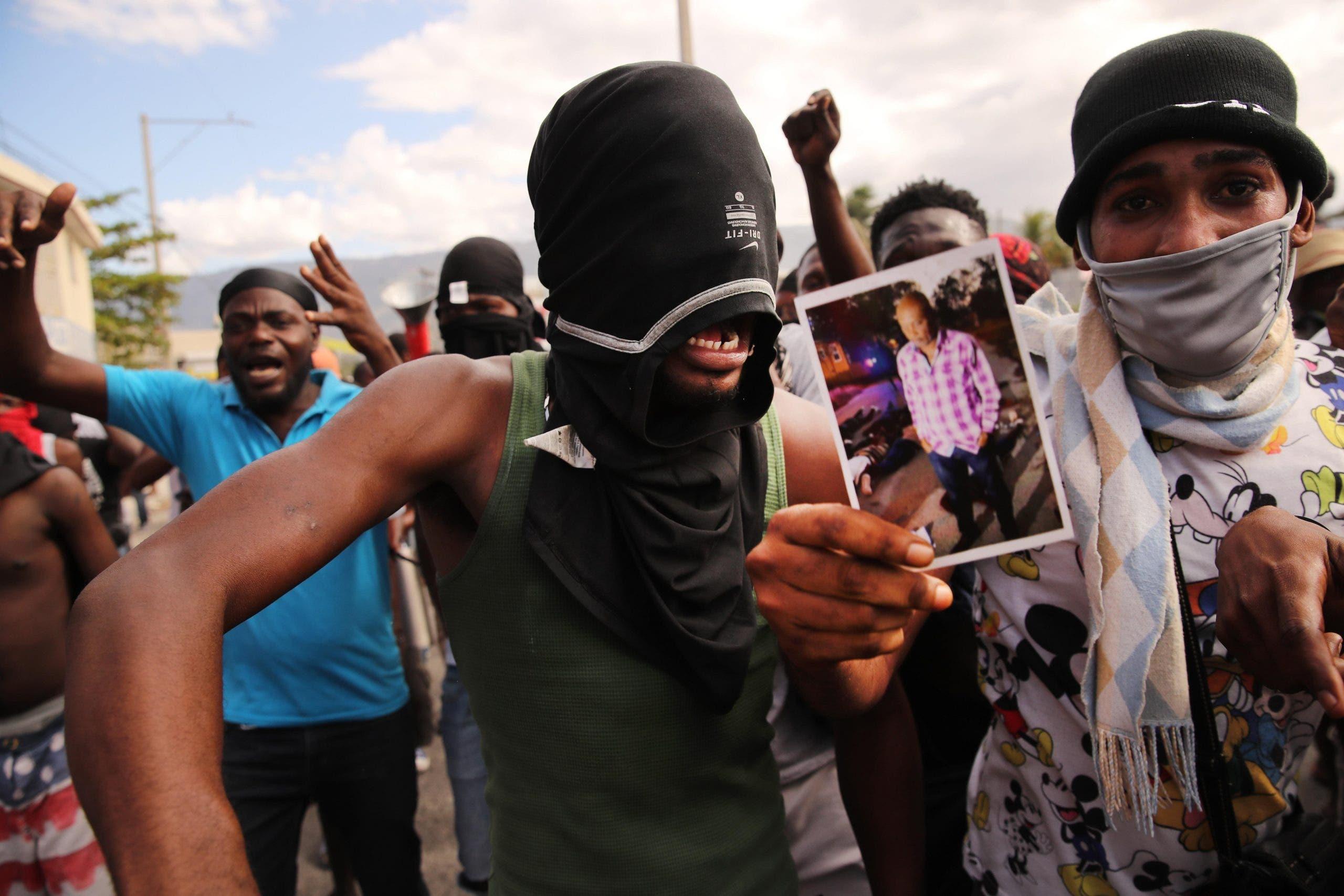 Miles de haitianos protestan contra el aumento de los secuestros