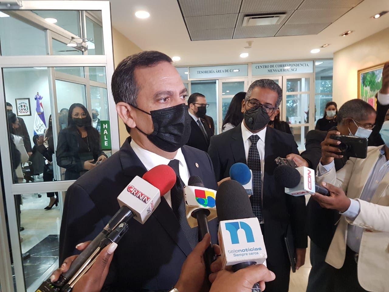 Presidente de la SCJ consulta con sectores modificación régimen de escalafón Poder Judicial