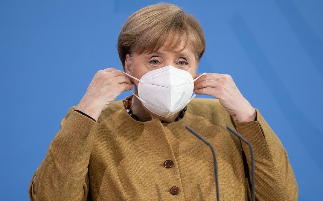 Merkel anuncia 1.500 millones de euros para la lucha global contra la covid