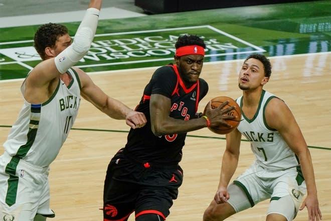 Los Raptors fueron mejores que los devaluados Bucks