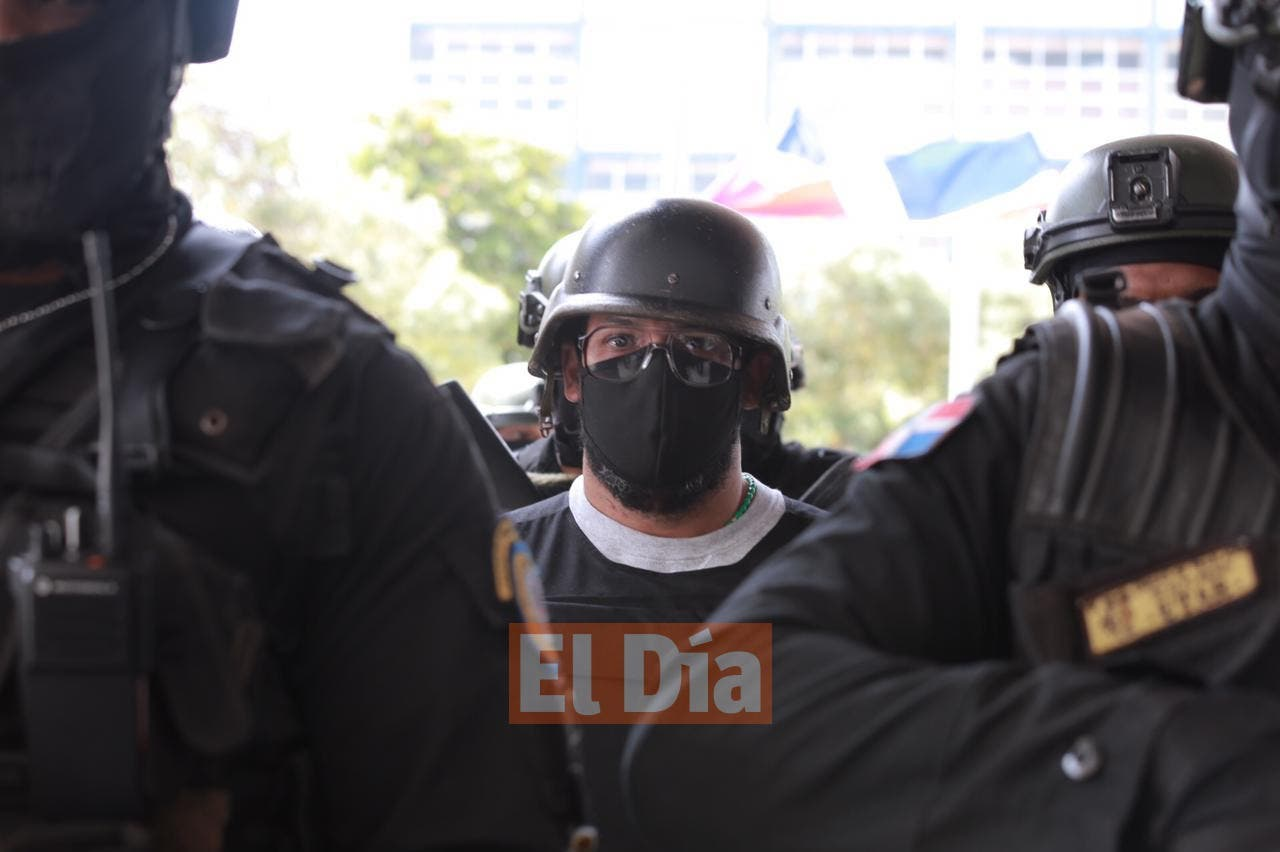 Así fue la llegada de Argenis Contreras al país para comparecer ante la justicia dominicana