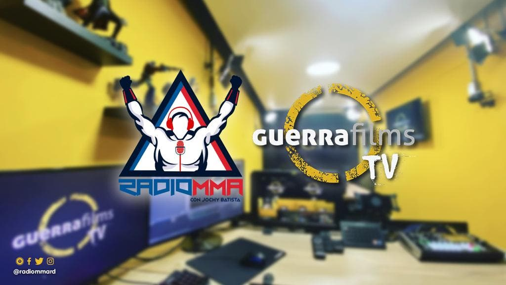 Radio MMA & Guerra Films acuerdan alianza para proyectar artes marciales mixtas