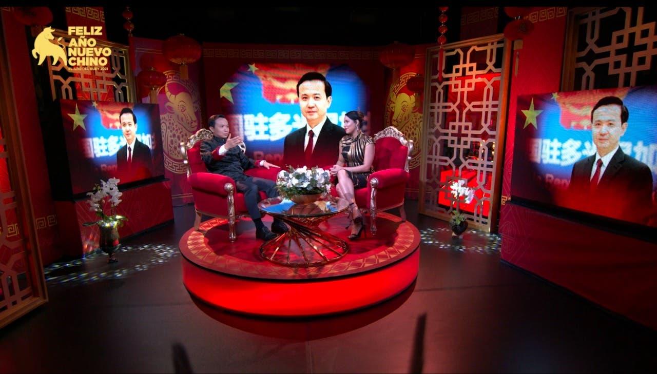 Embajada China en RD celebra con transmisión virtual el año nuevo chino