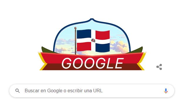 Google dedica su doodle a la celebración de la Independencia Nacional