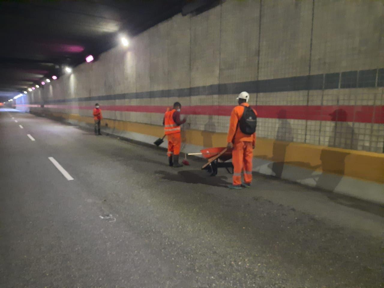 Cerrarán  a partir de esta noche túneles y elevados del GSD por mantenimiento