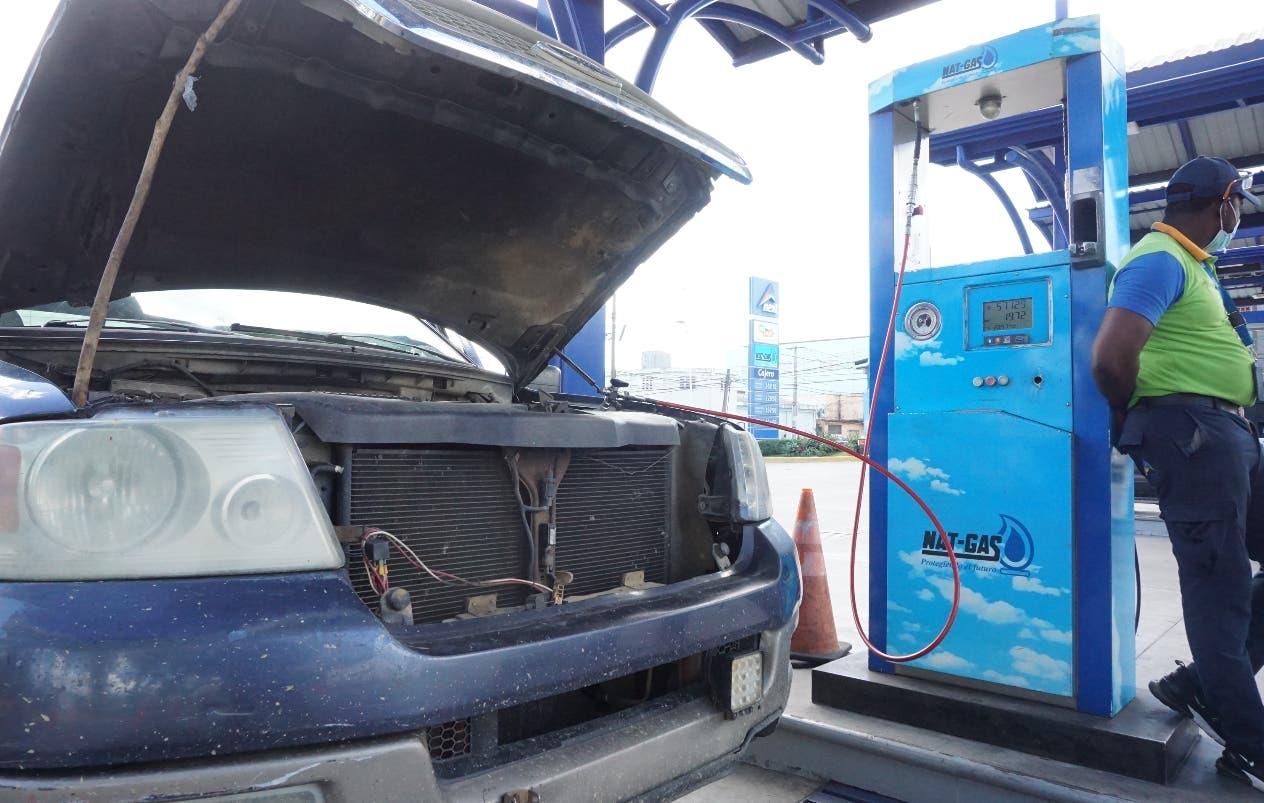 La conversión de vehicular a gas natural se estanca por varios años