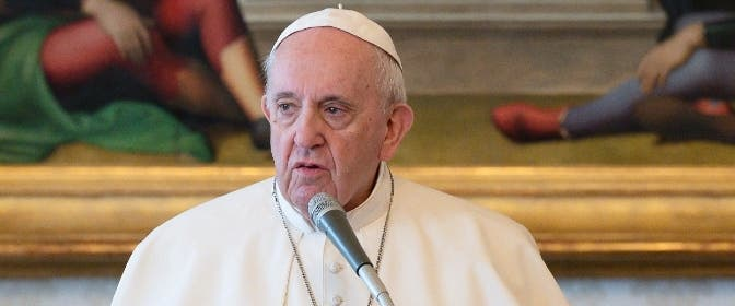 Papa Francisco: la pandemia nos ha devuelto a lo esencial, sin falsas seguridades