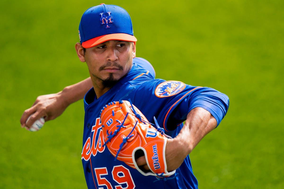 Mets: Carlos Carrasco sufre tirón muscular, se perdería inicio