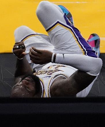 Lesión James es un fuerte golpe para los  Ángeles Lakers