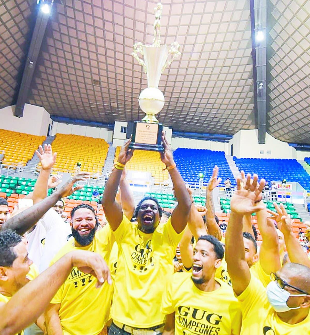 GUG conquista la cuarta corona en básket Santiago