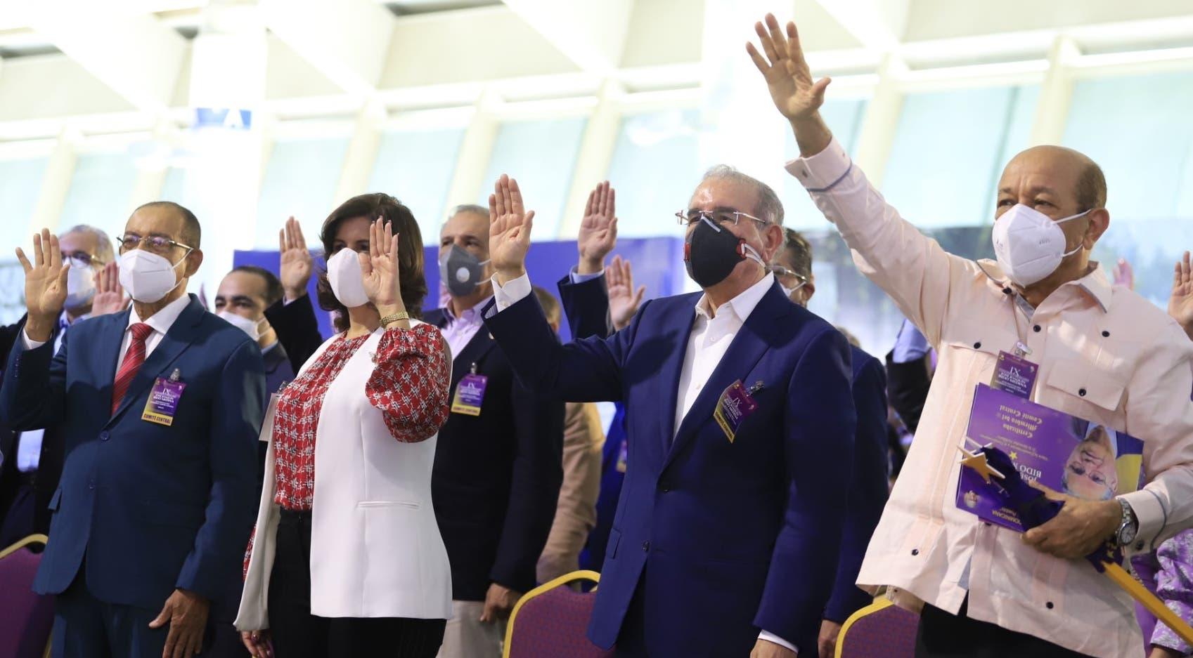 PLD escoge a Danilo por aclamación y unanimidad como su presidente